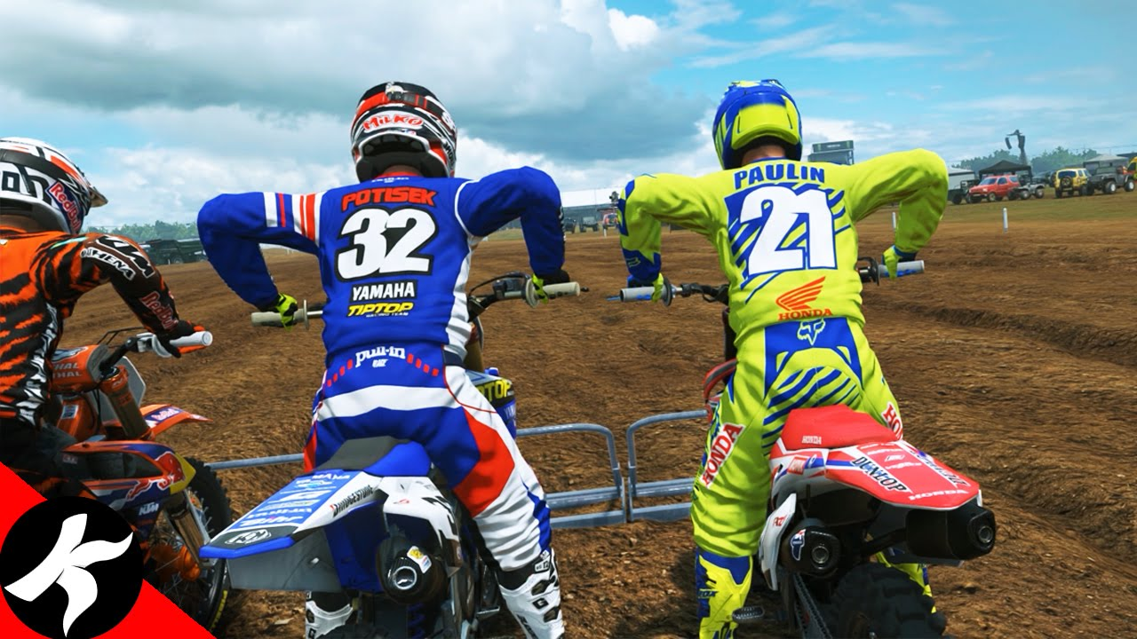 Mxgp2 Ma Premiere Vraie Course De Motocross Youtube
