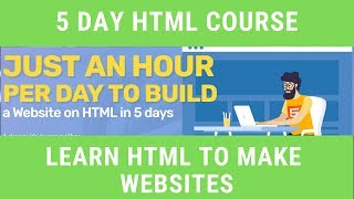 5 Day HTML Course