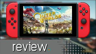 The Outer Worlds Switch Review - Noisy Pixel