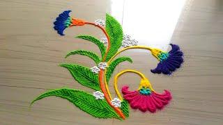 flowers rangoli designs,rangoli,rangoli designs,rangoli design,rangoli designs with flowers