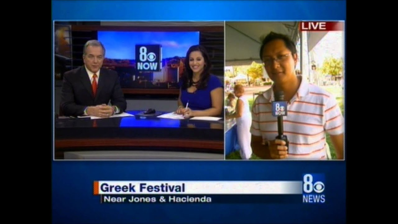39th Annual Las Vegas Greek Food Festival (9 23 2011 8 News Now at 4PM)