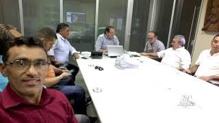 Prefeito Bessa se reuniu com o Superintendente do DER para tratar do alargamento da CE 377