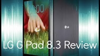 LG G Pad 8.3 (LTE) review.