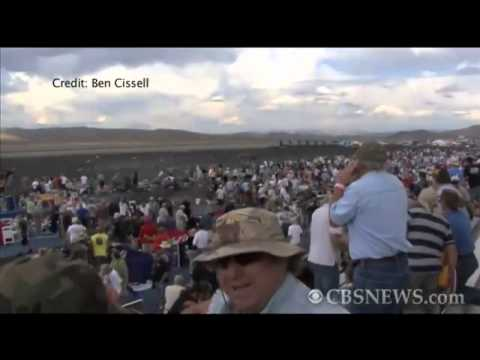 Graphic view of Reno, Nev. air show crash