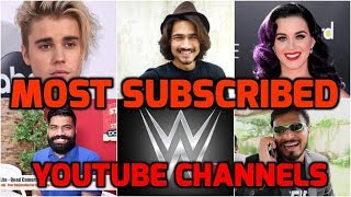 Most Subscribed YouTube Channels - Most Subscribed YouTubers