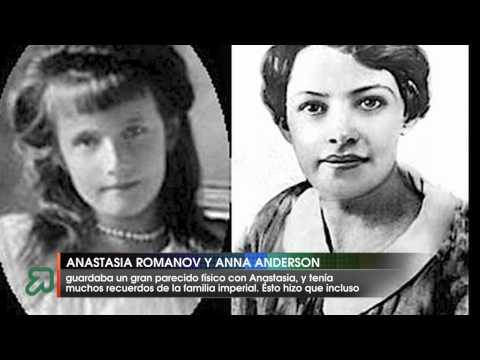 Anastasia Romanov y Anna Anderson