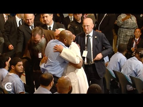 Pope Francis Visits Philly Prison