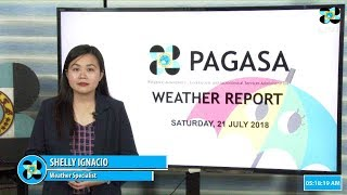 Public Weather Forecast Issued at 4:00 AM July 21, 2018