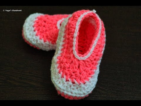00288af362b6 Crochet Baby Shoes-Crochet Baby Booties for 1-2 yrs-Crochet Baby Shoes-Crochet  Baby Booties in Tamil