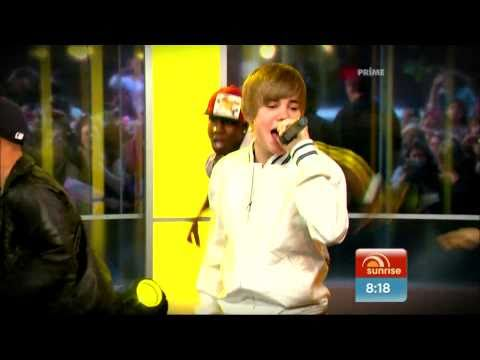 Baby - Justin Bieber Live @ (Sunrise 26April2010) [HD 1080p]