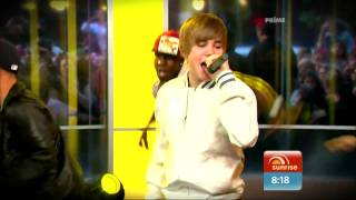 Baby Justin Bieber Live Sunrise 26April2010 HD 1080p