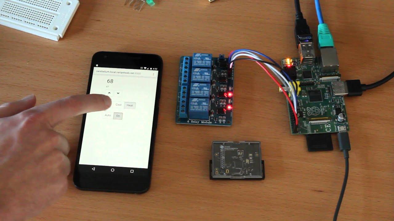 Raspberry Pi Thermostat - Web UI