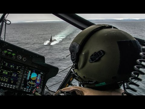 NATO Anti-Submarine Warfare Exercise in Norway