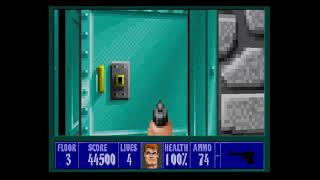 Wolfenstein 3D Playthrough Mission 3 Floor 3