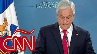 Chile: Piñera pide perdón y anuncia medidas económicas y sociales