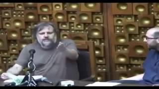 Slavoj Žižek tells a joke (Albanians)