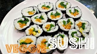 EASY SUSHI ROLLS (Vegan & Low-Fat) | Cheap Lazy Vegan