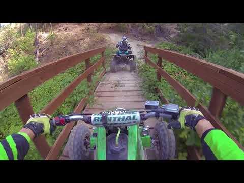 Banshee 350 ATV Adventure Trail Riding