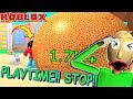 PLAYTIME BLOWS A MEGA BUBBLE and BALDI IS SQUASHED?!| The Weird Side of Roblox: Bubble Gum Simulator