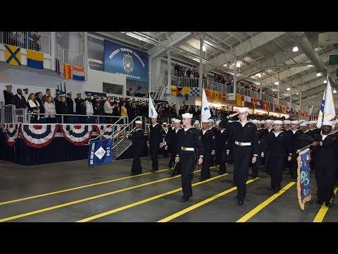 U.S. Navy Boot Camp Graduation: April 26, 2019