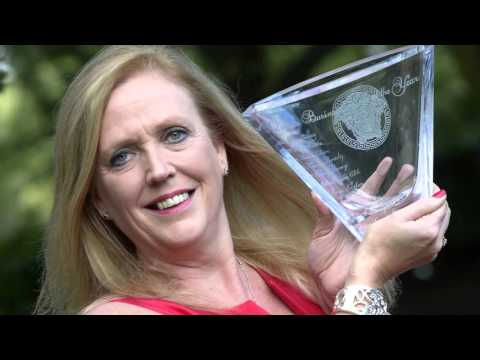Jenny Campbell congratulatory speech for Business Woman of the Year award 2015
