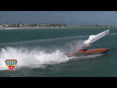 2017 Super Boat Key West Boat Crash