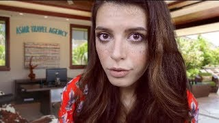 ASMR | The ASMR Travel Agency (Trip To A Waterfall + Layered Natural Sounds)