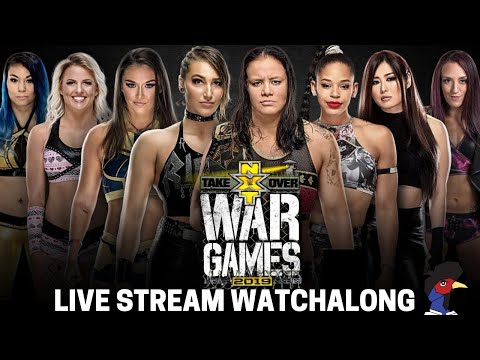 WWE NXT TakeOver: WarGames 2019 LIVE STREAM Watchalong