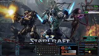 ★ Игра за террана - для платины-алмаза   StarCraft 2 с ZERGTV ★