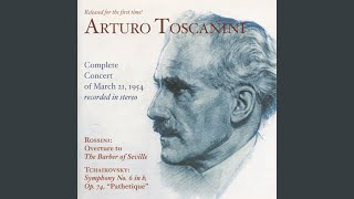"""Symphony No. 6 in B Minor, Op. 74, """"Pathetique"""": Applause and Closing Announcements"""
