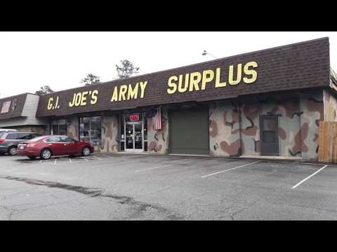 My Favorite Military Surplus Shop. Walk Through With Me......