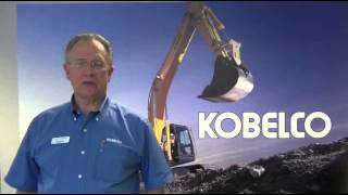 Video still for Ron Hargrave VP of Marketing and Sales for Kobelco
