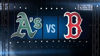 5/10/16: Shaw, Ramirez power Red Sox to win over A's