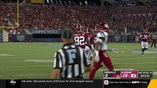 Alabama QB Tua Tagovailoa Highlights vs. Louisville