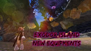 [ KTERA ] New Equipments + Exodor Island!