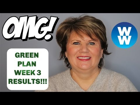 LOSING WEIGHT OVER 50 ON WW �� My Weight Watchers Green Plan Results �� Week 3