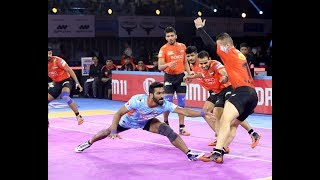 Pro Kabaddi 2019 highlights:  Bengal Warrior vs U Mumba
