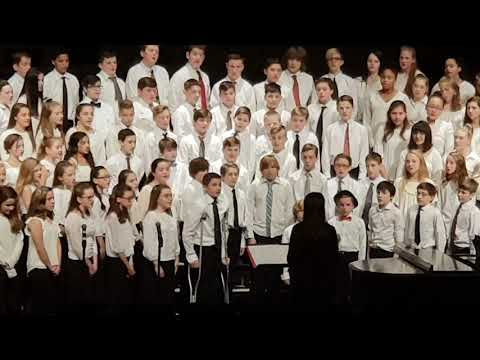 choir 7th graders Bay Trail middle school