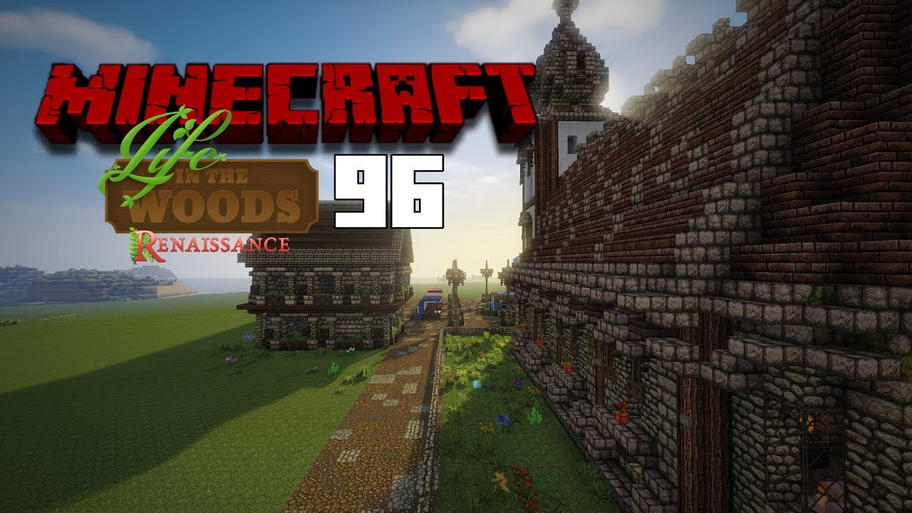 minecraft life in the woods 96-dach bauen [pc/fullhd/deutsch ] - youtube
