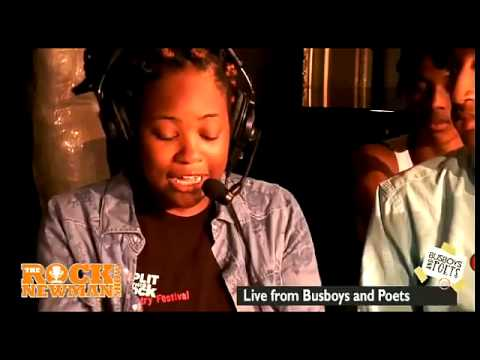 DC YOUTH POETRY SLAM TEAM on The Rock Newman Show