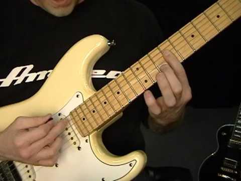 Steve Hacker - Listen To The Music - Guitar Lesson #1