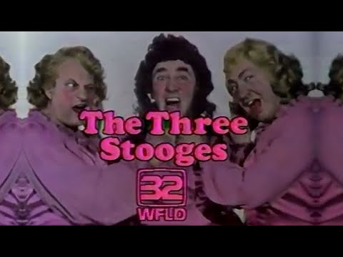 WFLD Channel 32 - The Benny Hill Show & The Three Stooges (Complete Broadcast, 3/13/1981)