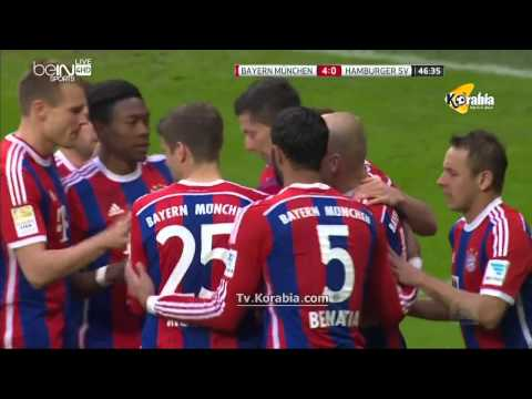 Bayern Munich Vs Hamburg 8-0