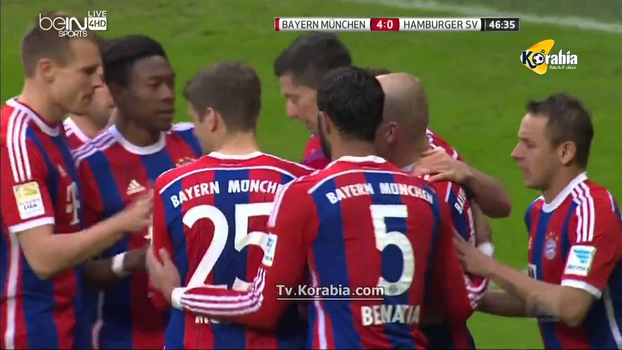 hamburger vs bayern munich