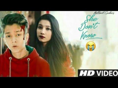 She Don't Know - Millind Gaba |Cute Romantic Love Story | Rahul And Amrita | Short Film