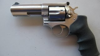 How to replace a Ruger GP 100 .357 mag factory grip with a Hogue Monogrip