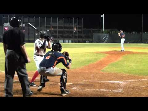 South Florida State College (Knuckleball RHP James Holle) vs Southeastern University 2-1-16