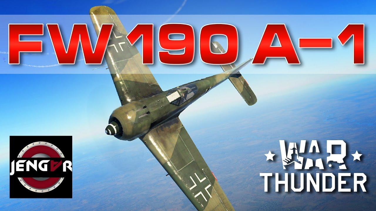 War thunder fw 190 a12