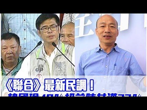 《聯合》最新民調!韓國瑜49%超前陳其邁32% 台北台中膠著   ETtoday新聞雲