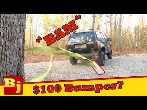 $100 Cheap Jeep Bumper Build - Operation Cheap Jeep